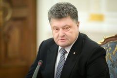 Reunión de la seguridad nacional y consejo de defensa en Kiev Fotografía de archivo
