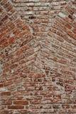 Reunión de la textura del fondo de la pared de ladrillo de arcos Fotos de archivo