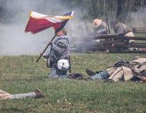 Reunión de las tropas Fotos de archivo libres de regalías