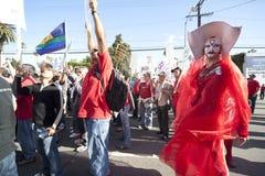 Reunión de Los Ángeles del proyecto del SIDA Foto de archivo