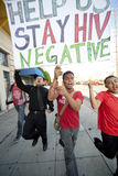 Reunión de Los Ángeles del proyecto del SIDA Fotografía de archivo libre de regalías