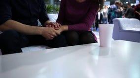 Reunión de los amantes almacen de metraje de vídeo