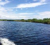 Reunión de los ríos imágenes de archivo libres de regalías