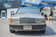 Reunión de Mercedes Benz a Nakhon Ratchasima, Tailandia 6 de febrero de 20 Imagen de archivo