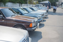 Reunión de Mercedes Benz a Nakhon Ratchasima, Tailandia 6 de febrero de 20 Imagen de archivo libre de regalías