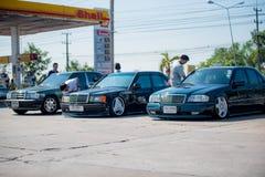 Reunión de Mercedes Benz a Nakhon Ratchasima, Tailandia 6 de febrero de 20 Fotos de archivo libres de regalías