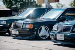 Reunión de Mercedes Benz a Nakhon Ratchasima, Tailandia 6 de febrero de 20 Fotos de archivo