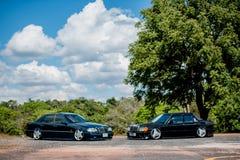 Reunión de Mercedes Benz a Nakhon Ratchasima, Tailandia 6 de febrero de 20 Imágenes de archivo libres de regalías