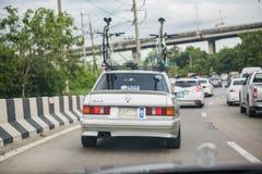 Reunión de Mercedes Benz a Nakhon Ratchasima, Tailandia 6 de febrero de 20 Foto de archivo libre de regalías