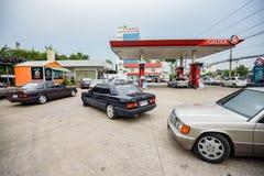 Reunión de Mercedes Benz a Nakhon Ratchasima, Tailandia 6 de febrero de 20 Imagenes de archivo