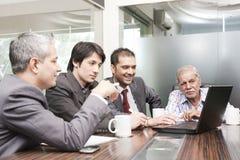 Reunión de negocios Fotografía de archivo libre de regalías