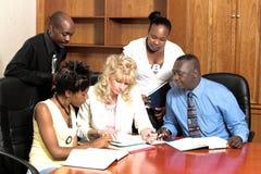 Reunión de negocios 3 fotografía de archivo