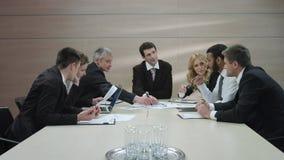 Reunión de negocios metrajes