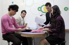 Reunión de negocios. Foto de archivo
