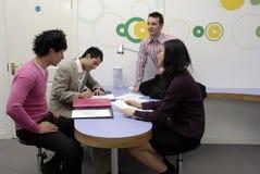 Reunión de negocios. Fotos de archivo libres de regalías