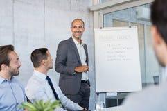 Reunión de negocios corporativo fotos de archivo