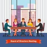 Reunión de negocios del tablero de los directores brainstorming Foto de archivo