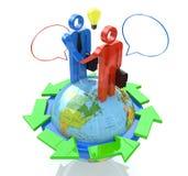 Reunión de negocios global