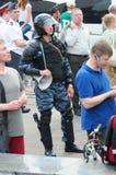 Reunión de oposición en el día de Rusia en el prospec Imagen de archivo libre de regalías