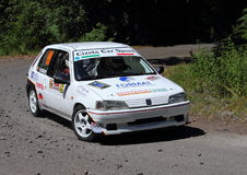 Reunión de Peugeot 106 Fotografía de archivo libre de regalías