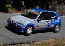 Reunión de Peugeot 106 Foto de archivo libre de regalías