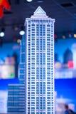 REUNIÓN DE PLYMOUTH, PA - 6 DE ABRIL: Gran inauguración del centro Philadelphia, PA del descubrimiento de Legoland el 6 de abril  Foto de archivo libre de regalías