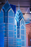 REUNIÓN DE PLYMOUTH, PA - 6 DE ABRIL: Gran inauguración del centro Philadelphia, PA del descubrimiento de Legoland el 6 de abril  Imagenes de archivo
