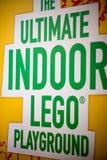 REUNIÓN DE PLYMOUTH, PA - 6 DE ABRIL: Gran inauguración del centro Philadelphia, PA del descubrimiento de Legoland el 6 de abril  Foto de archivo