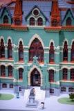 REUNIÓN DE PLYMOUTH, PA - 6 DE ABRIL: Gran inauguración del centro Philadelphia, PA del descubrimiento de Legoland el 6 de abril  Fotografía de archivo libre de regalías