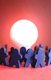 Reunión de reflexión Foto de archivo libre de regalías