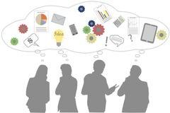 Reunión de reflexión del negocio Imagen de archivo libre de regalías