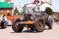 Reunión de retro-coches  Imágenes de archivo libres de regalías