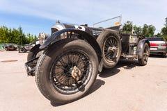 Reunión de retro-coches  Imagen de archivo