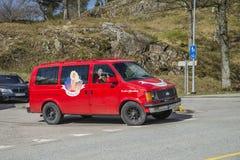 Reunión de Russe (países que se encuentran) en la fortaleza 2015 (Russe-coche) de Fredriksten Foto de archivo libre de regalías