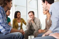Reunión del grupo de ayuda Imagen de archivo