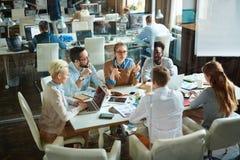 Reunión del negocio Imagen de archivo libre de regalías