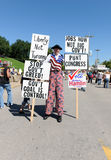 Reunión del partido de té en St. Louis Missouri Fotos de archivo