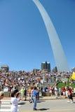 Reunión del partido de té en St. Louis Missouri Fotos de archivo libres de regalías
