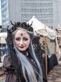 Reunión gótica de la onda de Leipzig Fotos de archivo