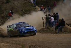 REUNIÓN MÉXICO 2007 DE LA CORONA DE WRC fotografía de archivo