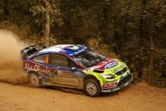 Reunión México de la corona de WRC 2010 LATVALA Fotos de archivo