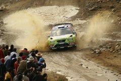 Reunión México de la corona de WRC fotos de archivo