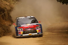 Reunión México de la corona de WRC Dani 2010 Sordo foto de archivo