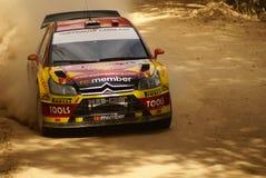 Reunión México de la corona de WRC Peter 2010 Solberg fotos de archivo libres de regalías