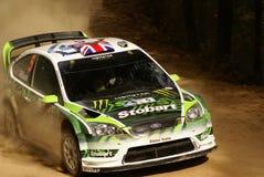 Reunión México de la corona de WRC WILSON 2010 fotografía de archivo