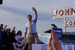 Reunión Mitt Romney de Paul Davis Ryan Imagen de archivo