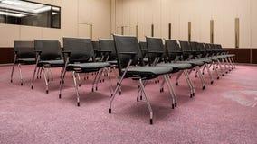 Reunión moderna, seminario, sala de conferencias imagen de archivo libre de regalías