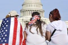 Reunión para la reforma de inmigración Foto de archivo