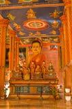 Reunión pasillo budista, Angkor, Camboya fotos de archivo libres de regalías