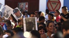 Reunión política en Cuba almacen de video